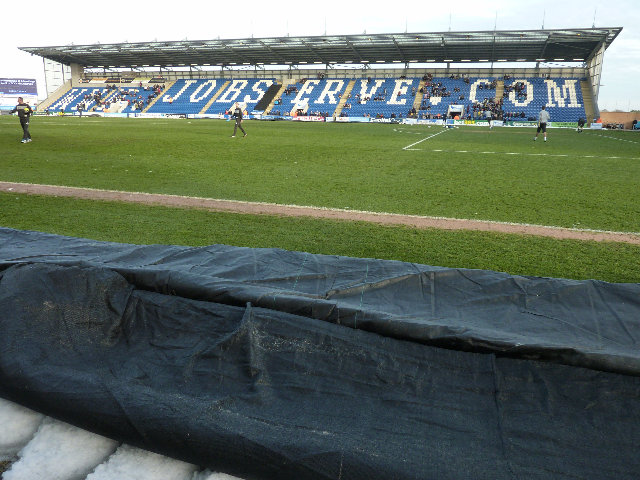 Colchester Utd - Walsall FC, Weston Homes Community Stadium, League One, 26/01/2013