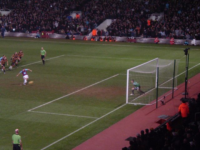 West Ham United - Hull City, Upton Park London, Premier League, 28/01/2009