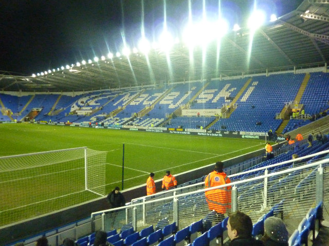 Reading FC - Chelsea FC, Madejski Stadium, Premier League, 30/01/2013
