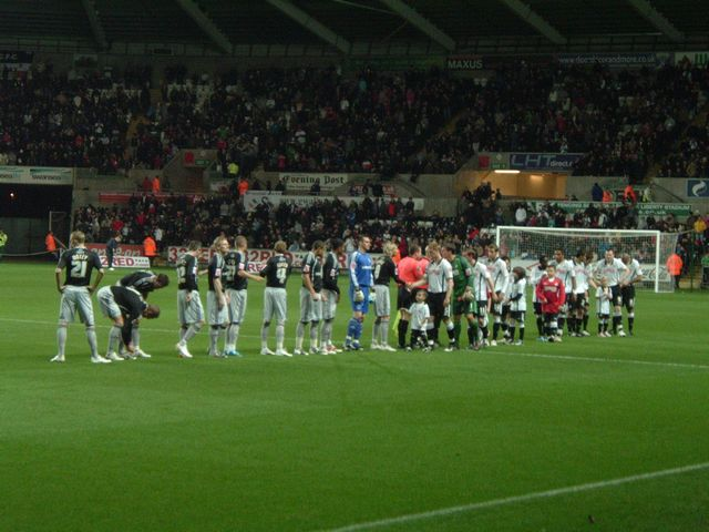 Swansea City - Derby County, Liberty Stadium, Championship, 20/11/2009